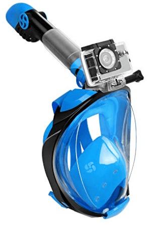 Migliori maschere da snorkeling - maschera integrale