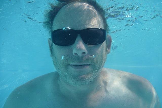 Maschera subacquea professionale