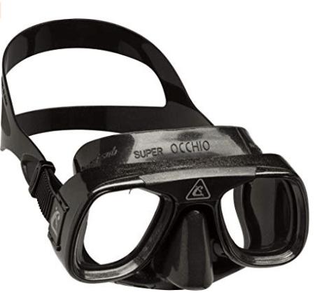 maschera famosa della cressi durante gli anni 90
