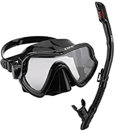 maschera da immersione per esperti