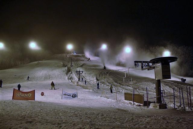 Dove sciare di notte in Italia