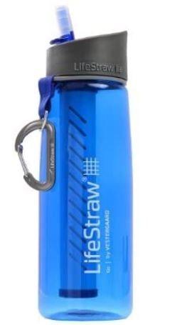 Lifestraw GO - Borraccia con filtro e cannuccia da viaggio