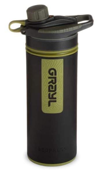 Grayl 400 miglior borraccia con filtro acqua da trekking