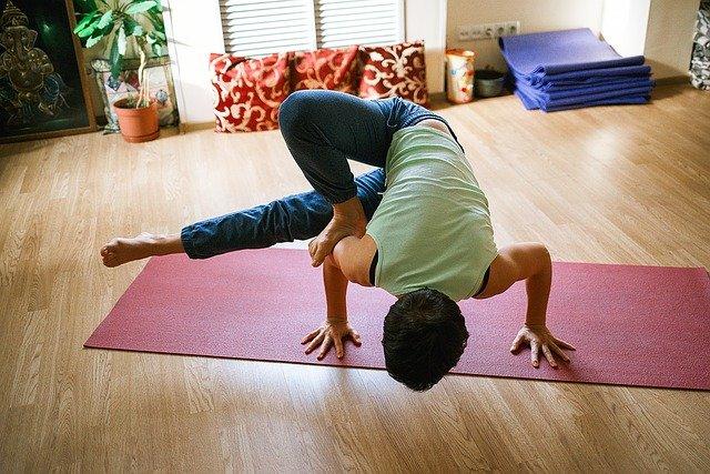 Tappetino yoga per esperti