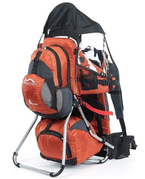 Montis Hover - Migliori zaini porta bambini da trekking