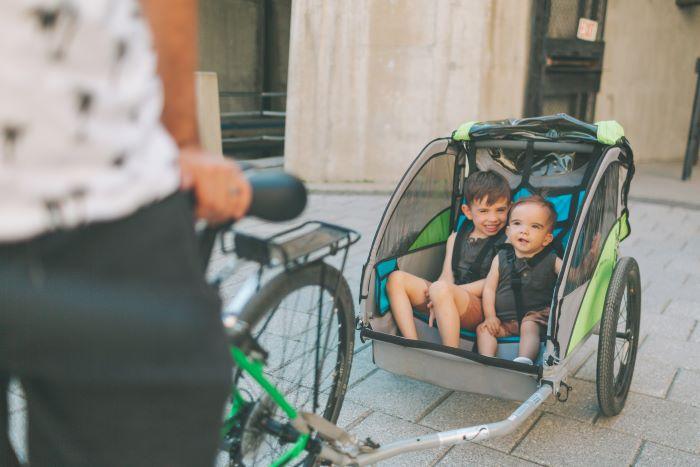 miglior rimorchio bici bambini