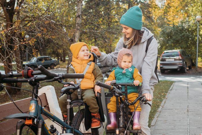 Tipologia e recensioni dei migliori seggiolini per bicicletta
