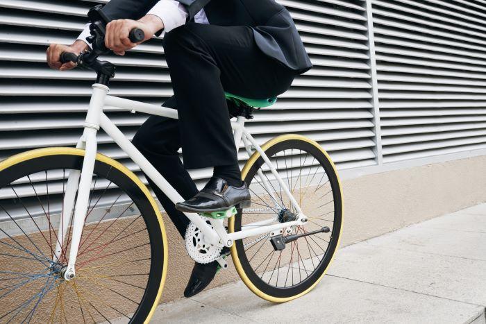 una bici monomarcia da città