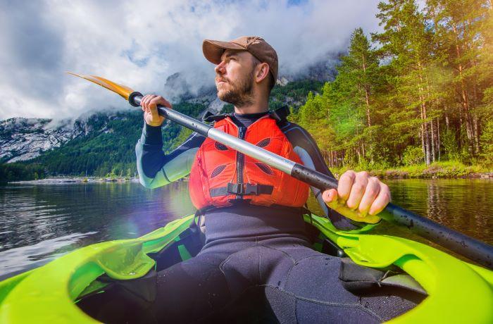 dove fare kayak