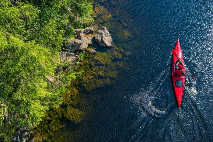 dove fare kayak in umbria