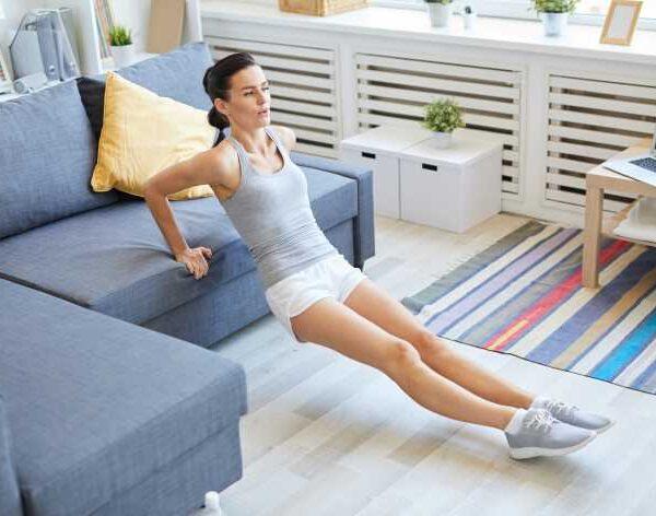 ginnastica per dimagrire in casa: