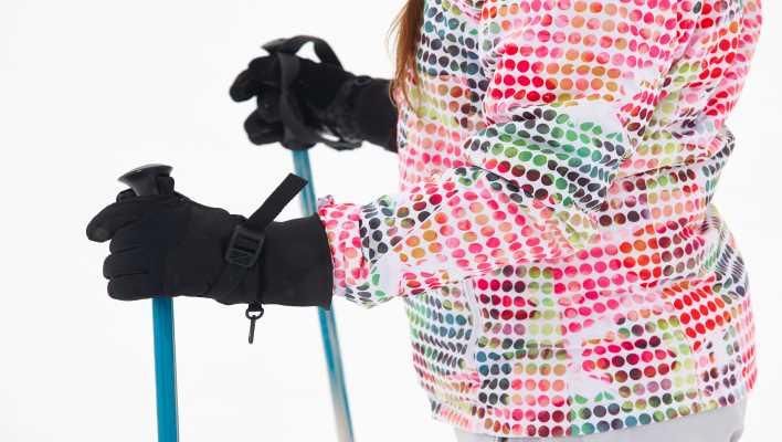 guanti riscaldati da sci