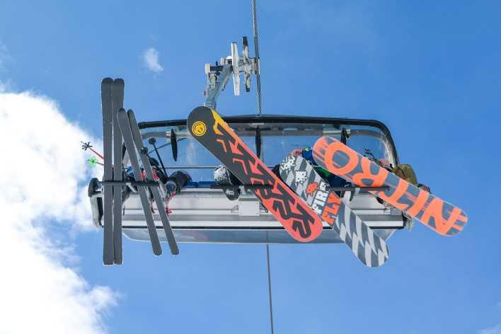 porta snowboard auto