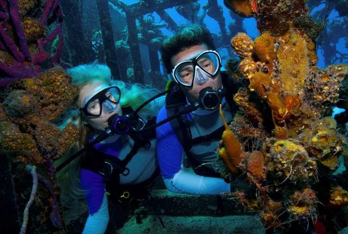 storia delle immersioni con sistema scuba